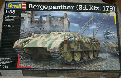 Revell 03238 Bergepanther WWII Dt. Sd.kfz. 179 1/35
