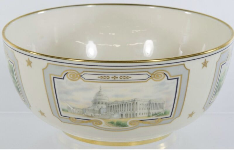 LENOX China The Congressional BOWL Commissioned for The US Capitol Building