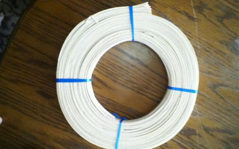 Six coils of 1/2 flat reed plb blue ribbon