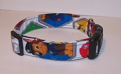 Paw Patrol Dog Collar (Wet Nose Designs Paw Patrol Inspired Dog Collar Rescue Dogs Marshall Chase)