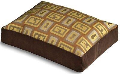 """WILLIAM WEGMAN x Crypton Fabrics 'Show Dog' Designer Dog Bed 36"""" x 27"""" x 5"""" NWT!"""