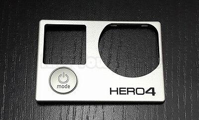 Original Gopro Hero 4 Optical Front Cover Plate Repair Part +Button US