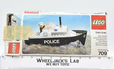 Lego Town 709 Police Boat Legoland 1977 LEGO Set Vintage