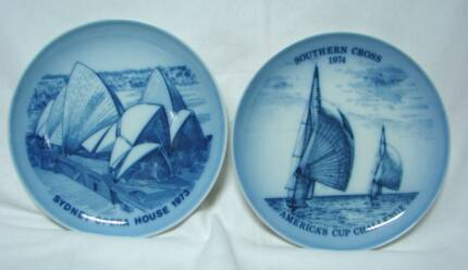 Bing and Grondahl  comm Plates Southern Cross  Opera House