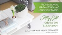 Professional  Organzing and house cleaning