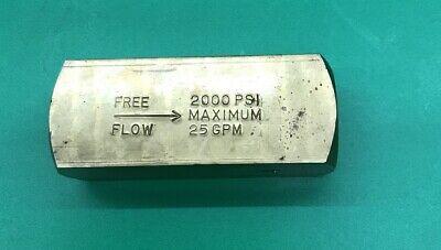 1-parker Hydraulic Valve C1200b -10gb 2000 Psi Maximum 25 Gpm