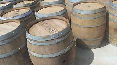 12 (twelve) Authentic Used Oak Wine Barrels - FREE SHIPPING! for sale  Paso Robles