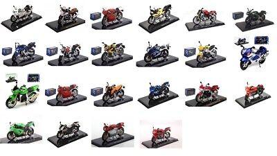 Atlas Collections Motorrad Modelle verschiedene Fabrikate 1:24