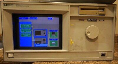 Hp Hewlett Packard 16500a Logic Analyzer Analysis System 16510b 16520a 16521a