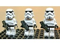 Firestar Toys Printed Arms, Brickarms 3-11 3 Custom Lego Stormtroopers