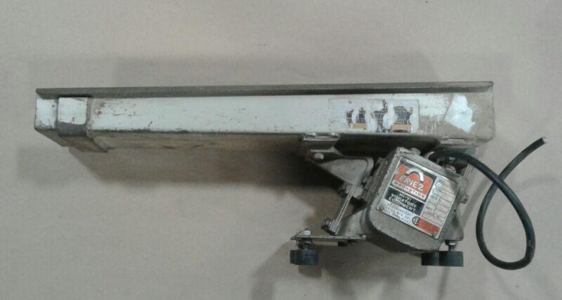 Eriez Magnetics Model 15a Style 26 Vibrating Tray Chute Slide #070twc52pr4