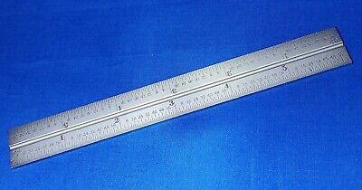 Starrett Cb6-16r Satin Chrome Combination Square Blade
