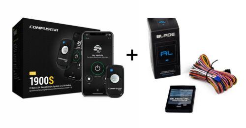 Compustar CSX1900S  2-Way Remote Start System w/ Drone X1 & Blade-AL Bypass NEW