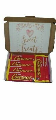 Nestle caramac chocolate gift box present. birthday / fathers day etc