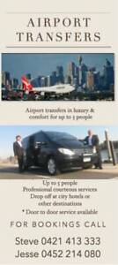 Luxary airport transfers up to 5 person Melbourne CBD Melbourne City Preview