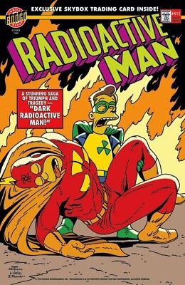 Radioactive Man Bongo Comic Book Cover Simpsons Superhero Fine Art Giclée - Radioactive Superhero