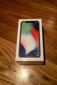 iPhone X 10 256GB Silver Brand New Sealed Unlocked