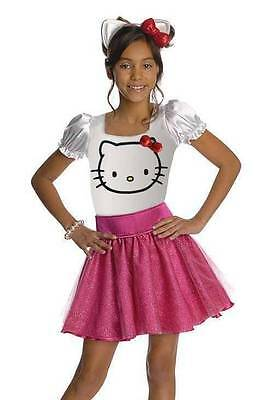 HELLO KITTY COSTUME Dress and Ears with bow 4-6 (best for age 3-4) Halloween - Best Halloween Costumes For Girls