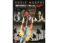 Beverly Hills Cop Trilogy (DVD, 3-Disc Box Set) Each Disc Watched Once From New
