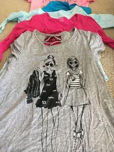 Wide selection of girls brand name clothes (size 14 & under)