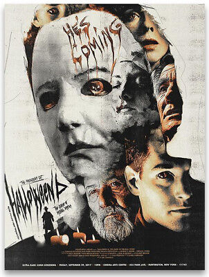 Halloween 6 Movie (HALLOWEEN 6 Producer's Cut Movie POSTER Ltd Ed. MICHAEL MYERS n MONDO *SOLD)