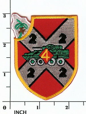 USMC 4th LAI Bn obsolete Marines PATCH 4th Light Armored Infantry Battalion ODS! ()