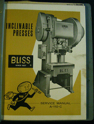 Bliss A-110-c Service Manual
