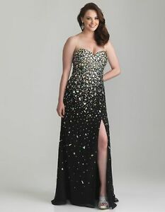 Rhinestone prom dress Kitchener / Waterloo Kitchener Area image 1