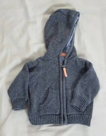 0-3mths grey jacket from M&S