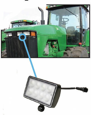 John Deere 7000-9000 Series Tractor Sprayer Windrower Light Led Hood