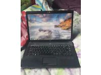 Hp laptop. Full working order. Cheap. But still does everything work quick. Wifi