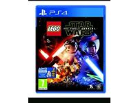 Lego star wars the force awakens ps4 game and dvd
