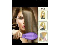 New Hair straightening brush