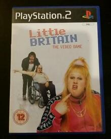 PlayStation 2 PS2 Little Britain: The Game. GC
