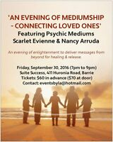 An Evening of Mediumship: Connecting with Loved Ones