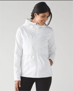 LULULEMON Nonstop Jacket White size 4 new no tags Sold out