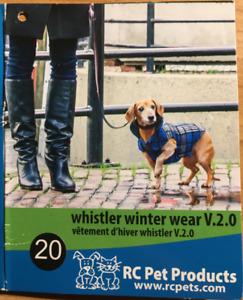 RC Pets - Whistler Winter Wear dog coat - Tan Tartan - size 20
