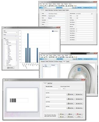 Medical Dental Science Lab Equipment Supply Consumable Cost Tracking Software Cd
