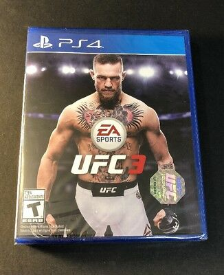 Used, UFC 3 [ First Print Blue Case ] (PS4) NEW for sale  Shipping to Nigeria
