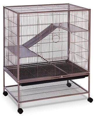 Prevue Hendryx Rat and Chinchilla Cage with Stand. 31 x 20 x 40.