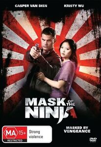 Mask of Ninja (DVD, 2009)Casper Van Dien *New & Sealed*R4*