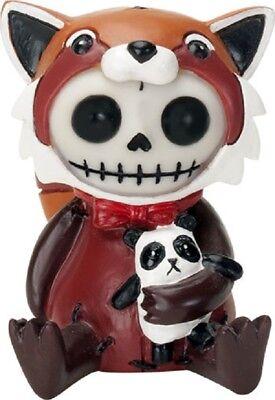 NEW Furrybones Furry Bones Reddington Red Panda Skull Skeleton Figurine 9174 ()