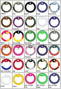 4-Military-Army-Dog-Tag-Silencers-Rubber-Silencer-You-Choose-Colors-Mix-Match