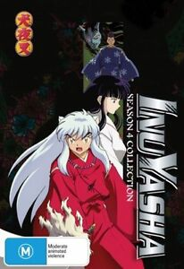 Inu Yasha : Season 6 part 2 collection (DVD, 2007, 5-Disc Set)