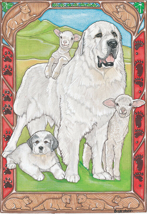 Great Pyrenees Blank Note Cards Boxed