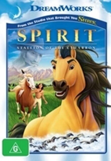 Spirit Stallion of the Cimarron New DVD R4