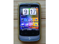 HTC Wildfire Mobile Phone (Vodafone)