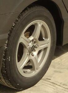 4 mags et 4 pneu d été