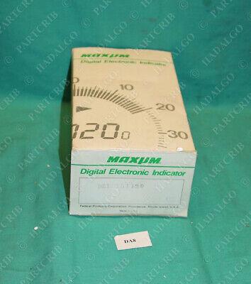 Mahr Federal Maxum Dei 15112d Digital Electronic Dial Indicator 15112 Gage Gauge