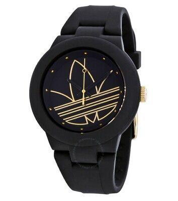 Men's Adidas Originals Aberdeen Black Silicone Watch ADH3013